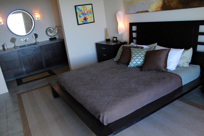 Vacation villa bedroom