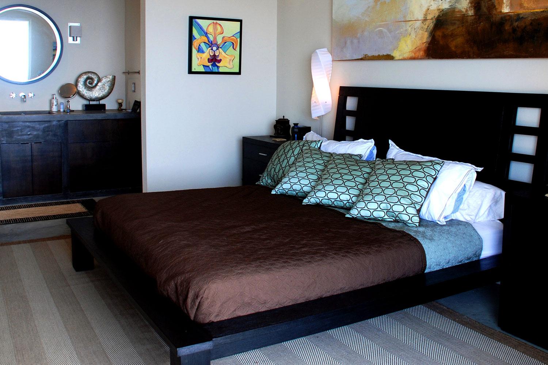 Villa bedroom with view